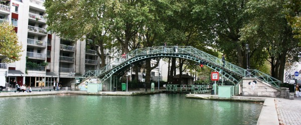In Paris, we love to float or stroll along the Canal Saint-Martin