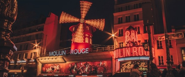 Moulin Rouge; spend an unforgettable evening